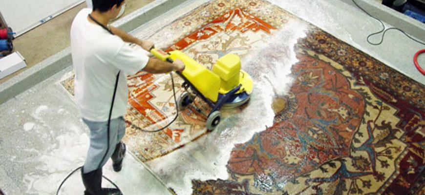 قالیشویی در مرزداران